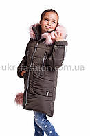 Зимняя  куртка пальто   для девочки подростка  от производителя 32-42