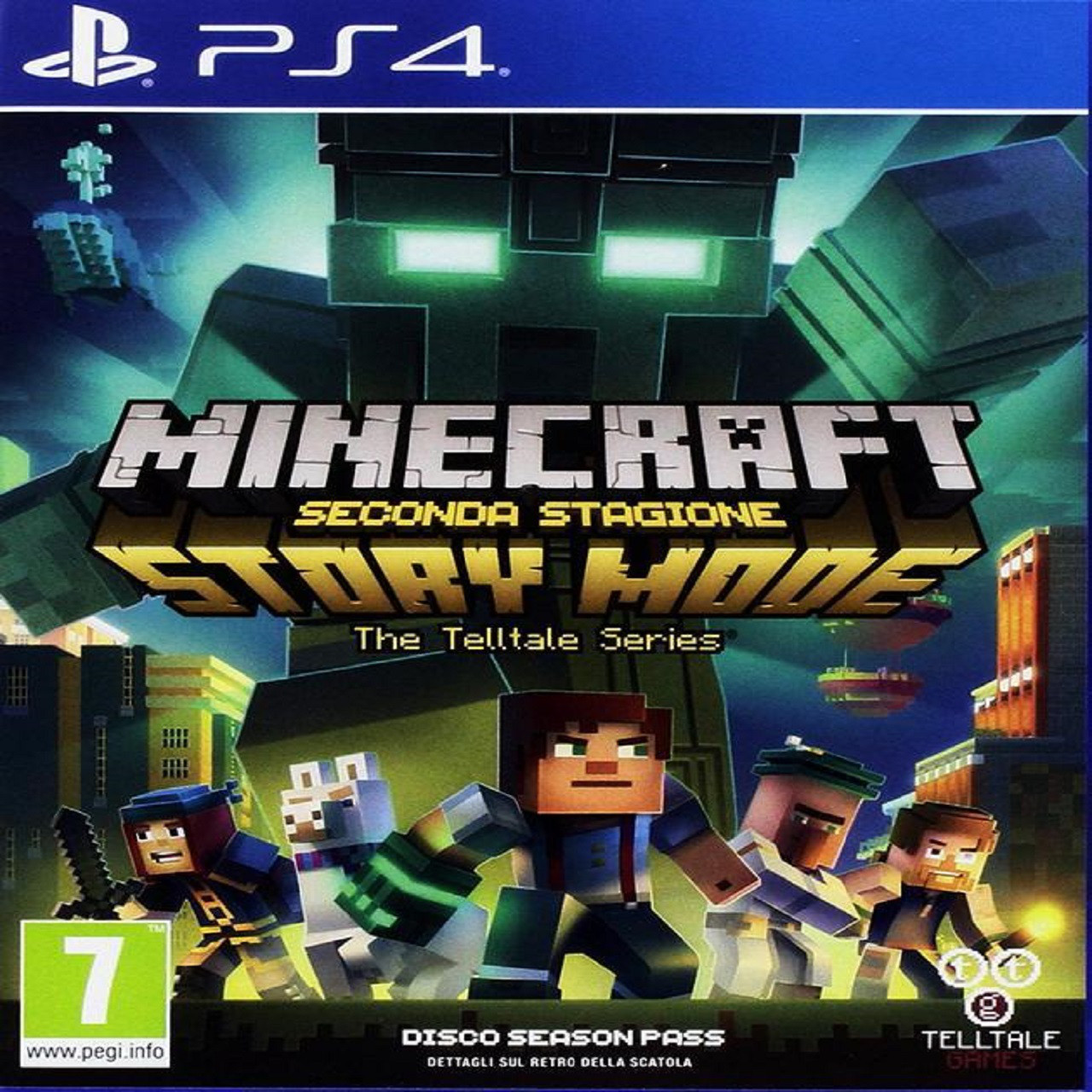 Minecraft: Story Mode Season Two (русская версия) PS4 (Б/У)