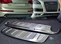 Накладка на передний и задний бампера Audi Q7