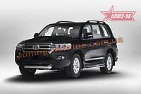 Защита переднего бампера труба d100 Союз 96 на Toyota Land Cruiser 200 2015 (эксклюзив TMR )