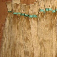 Срез натуральных скандинавских волос 80 см. Масса: 100, 150, 200 грамм.