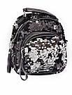 Сумка рюкзак с пайетками Luxy Moon золотой (495/5), фото 2