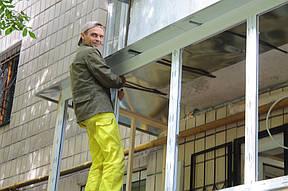 Остекление балкона - немаловажный этап, без которого вам просто не обойтись, если вы хотите, чтобы ваш балкон был комфортным и уютным. В комплексе к остеклению также прилагается подоконник, козырек и отлив.
