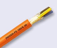 Кабель огнестойкий безгалогенный (N)HXH FE 180/E90 0,6/1kV 3х4, фото 1