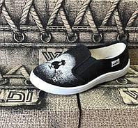"""Текстильные тапочки для девочки  р.30-36 тм """"Валди"""", (мокасины, слипоны, текстильная обувь)"""