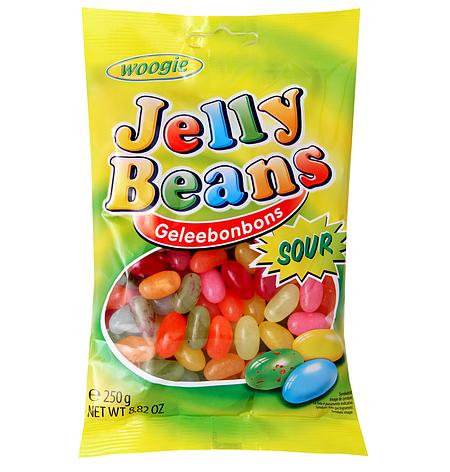 Жевательные конфеты Woogie Jelly Beans 250 г, фото 2