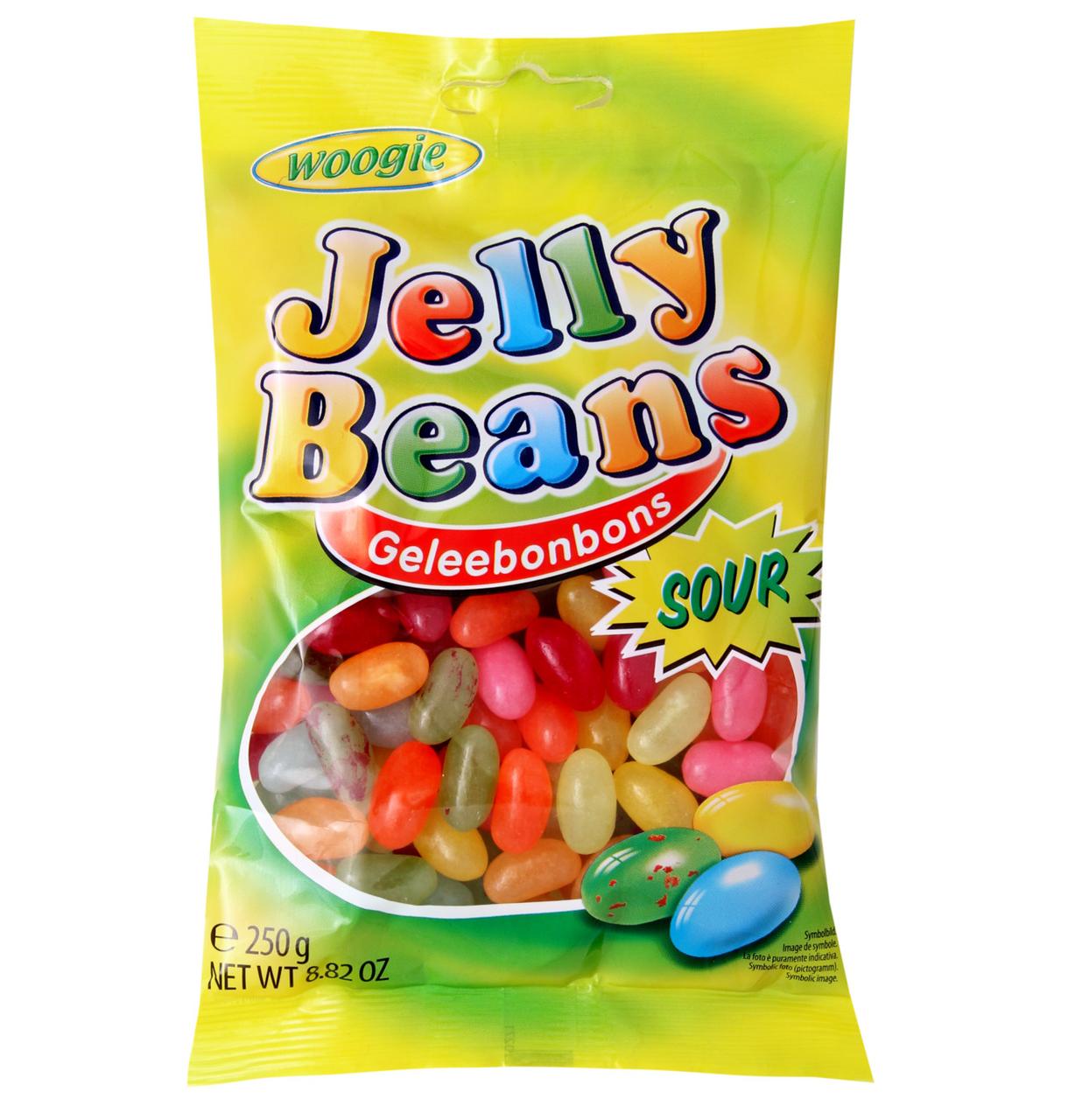Жевательные конфеты Woogie Jelly Beans 250 г