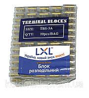 Распределительный блок 3A ( PE,4мм ) LXL