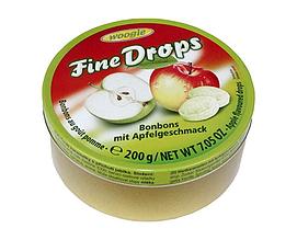 Леденцы Woogie Fine Drops яблоко 200 г