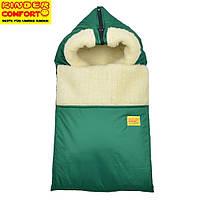 Конверт на овчине Kinder Comfort Grand Зеленый
