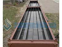 Металлоформа для изготовления призматических свай сечением 35х35
