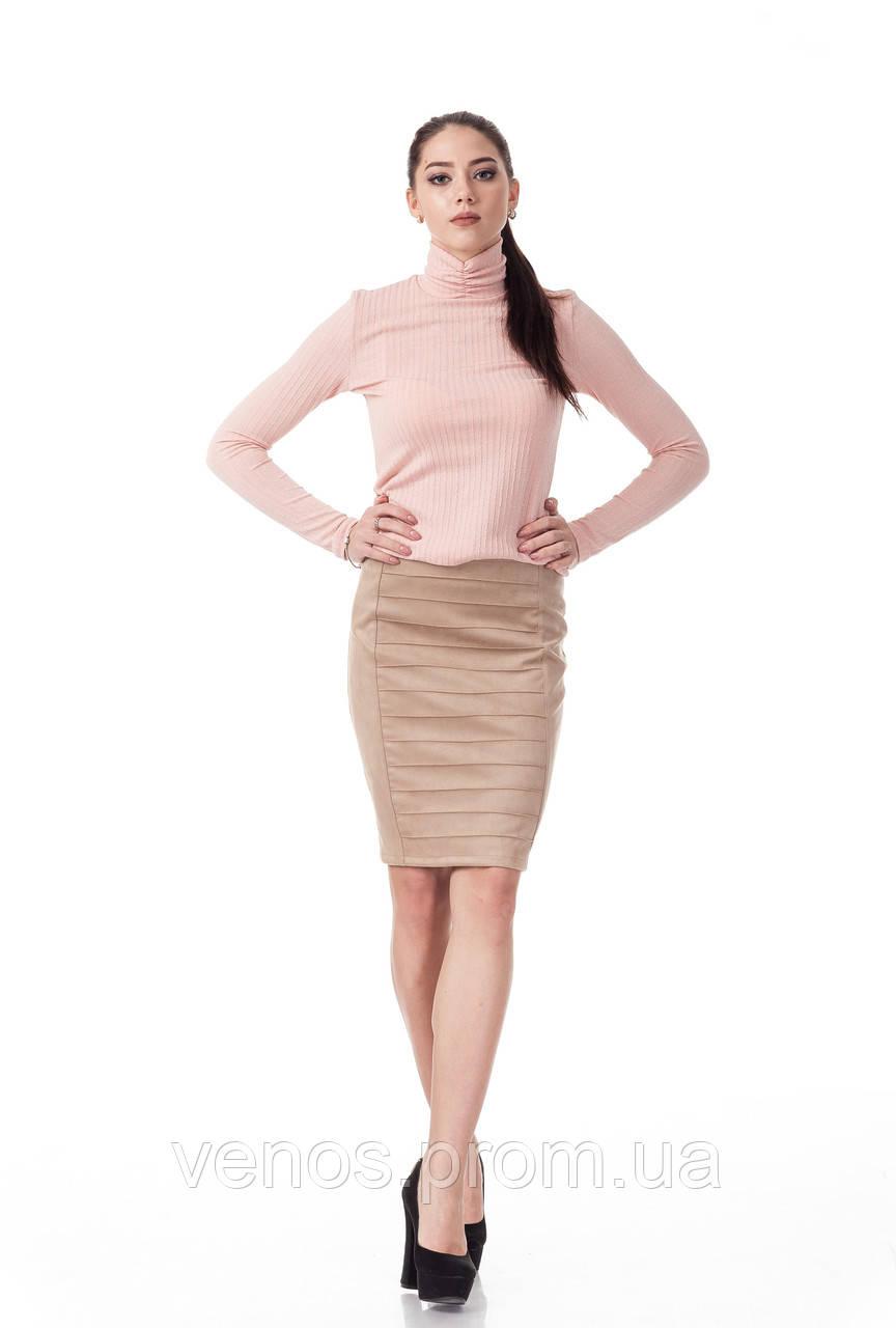Женская юбка из замша. Ю090