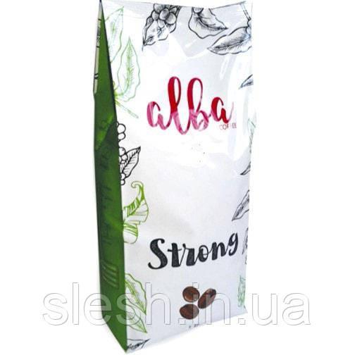 Кофе в зернах Alba Strong 1 кг Италия.
