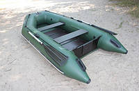 Надувная лодка Ладья ЛТ-270-МВ (моторная) со сланью-книжкой, фото 4