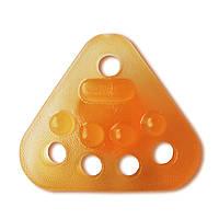 Еспандер кистьовий Ridni Relax силіконовий середній (помаранчевий), фото 1