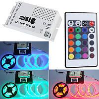 Музыкальный контроллер для светодиодных лент (24 клавиши), фото 1