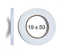 Двухсторонний скотч BOMA 4145 - 19 мм × 50 м (белый)
