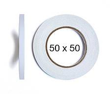 Двухсторонний скотч BOMA 4145 - 50 мм × 50 м (белый)