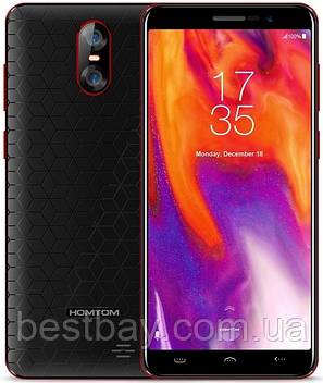 Homtom S12 black-red, фото 2