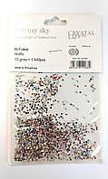 Камни Сваровски, ss3, 10 разных цветов 1440 шт