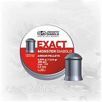 JSB Exact Monster Diabolo 0,87 гр 400 шт/уп 4,52 мм