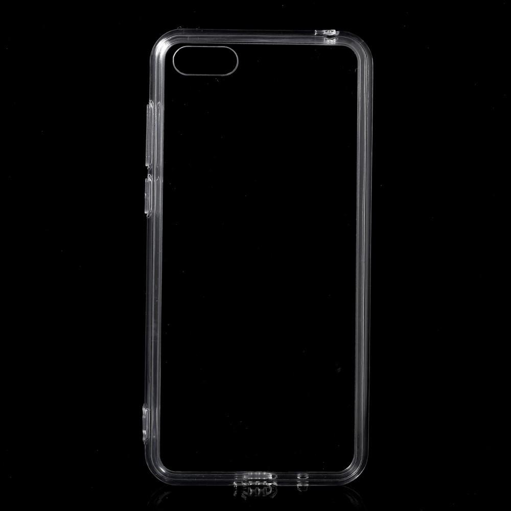 Чехол накладка для Huawei Honor 7A DUA-L22 силиконовый, Air Case Прозрачный