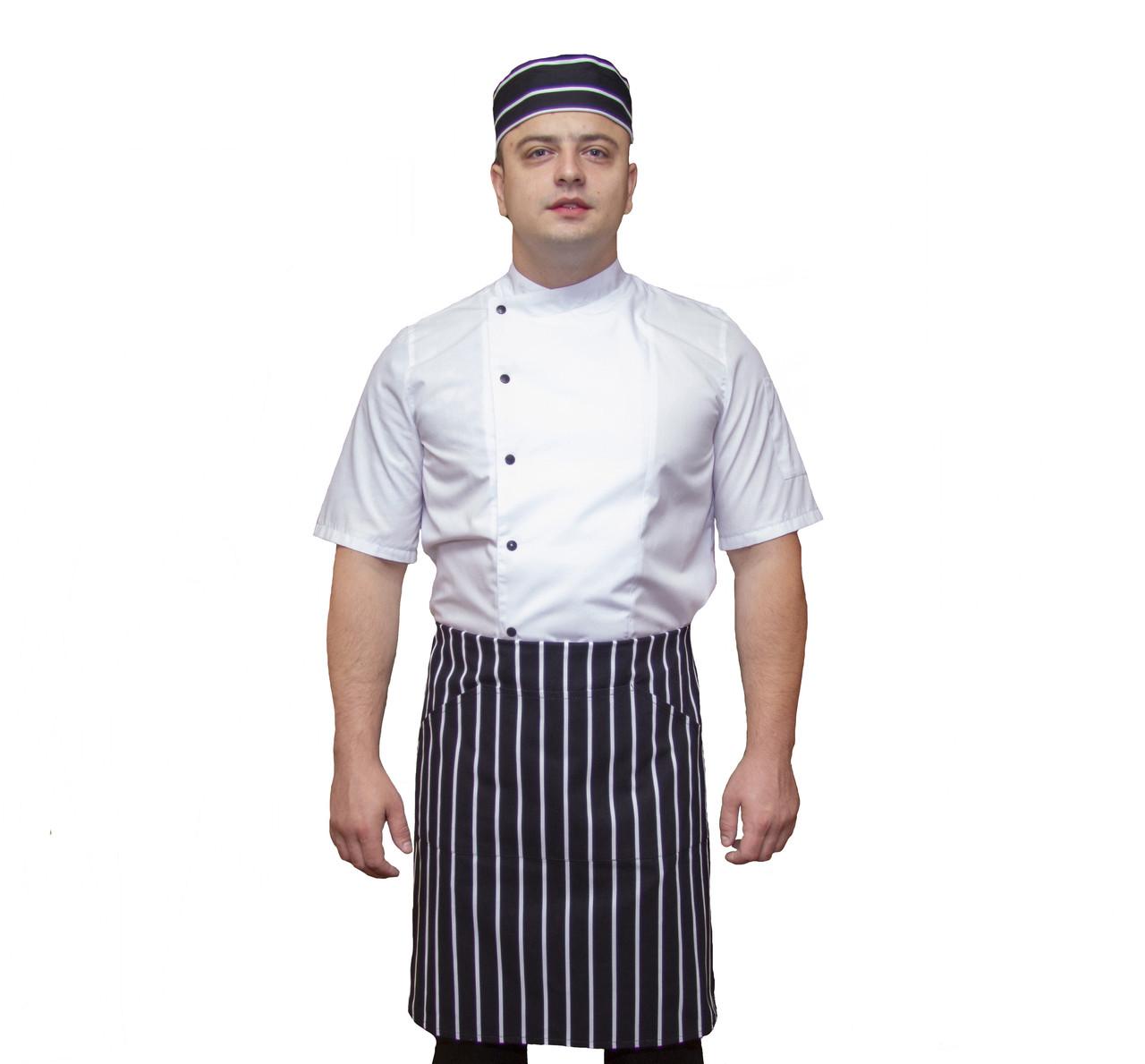 """Китель повара """"Белый Шеф"""" под заказ"""