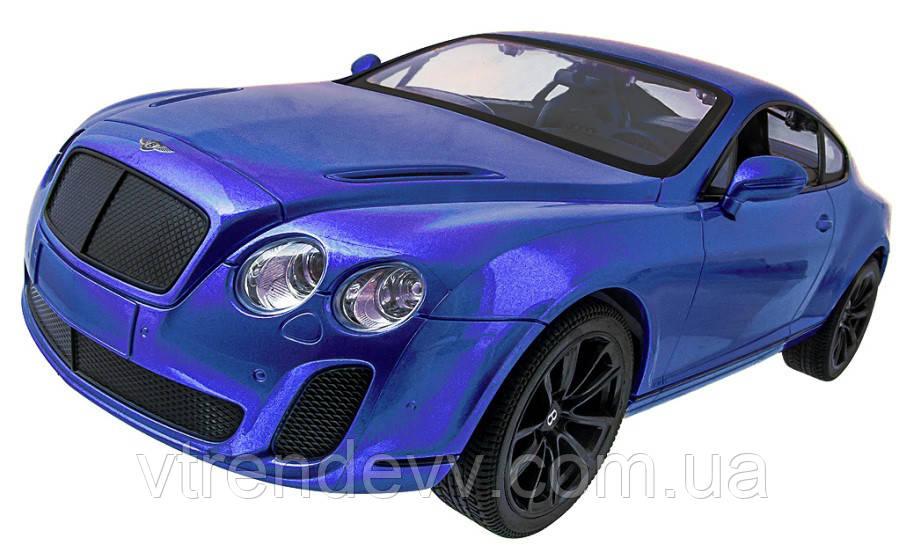 Машинка р/у 1:14 Meizhi лиценз. Bentley Coupe (синий)