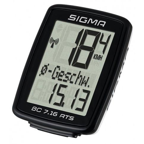 Велокомпьютер Sigma Sport BC 7.16 ATS (LIS717)