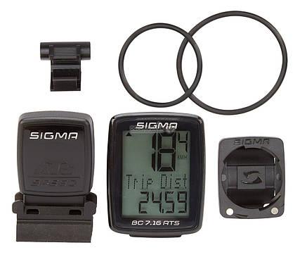 Велокомпьютер Sigma Sport BC 7.16 ATS (LIS717), фото 2