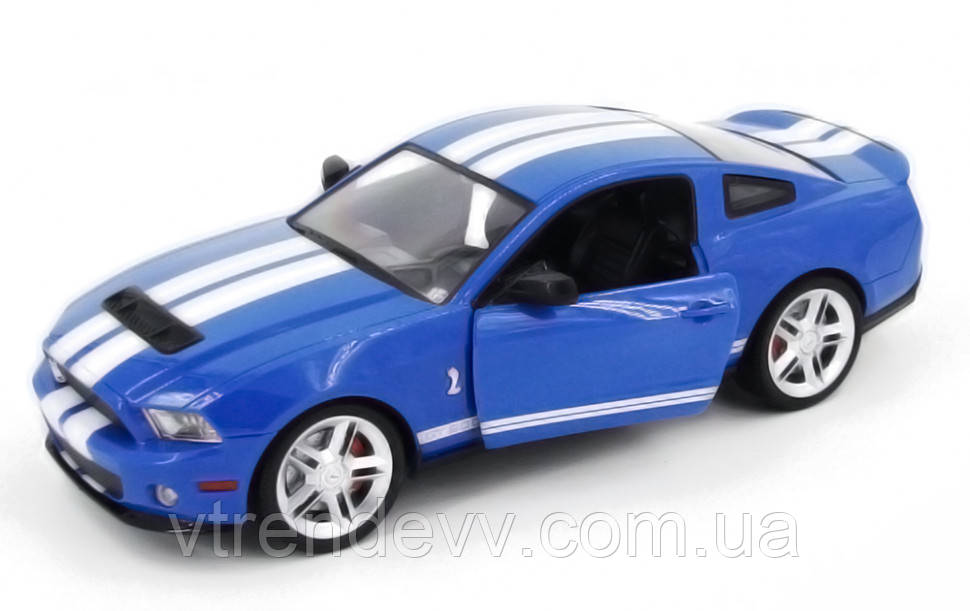 Машинка р/у 1:14 Meizhi лиценз. Ford GT500 Mustang (синий)