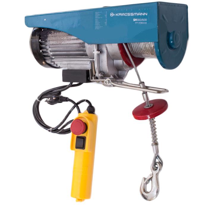 Лебедка электрическая Kraissmann SH 300/600. Подъемник электрический Крайсман