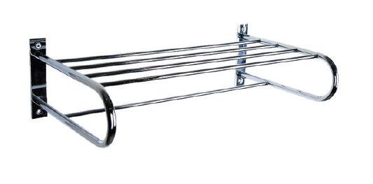 Полка-вешалка для полотенец из нержавеющей стали