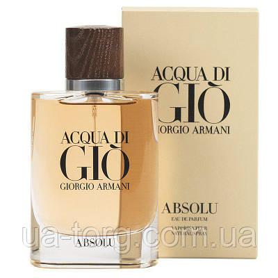 Мужская парфюмированная вода Giorgio Armani Acqua di Gio Absolu,125 мл