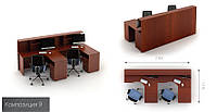 Офисная мебель  Атрибут  9 офисный стол , фото 1