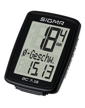 Велокомпьютер Sigma Sport BC 7.16 (LIS716), фото 2