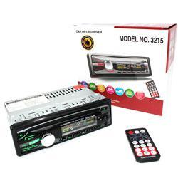 Автомагнитола 1DIN MP3-3215DBT RGB панель MP3 (без диска)