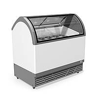 Морозильная витрина для продажи весового мороженого JUKA M400Q