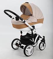 Детская коляска Adamex Encore X20 2 в 1 (бежевый), фото 1