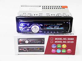Автомагнитола 1DIN MP3-3228D RGB панель