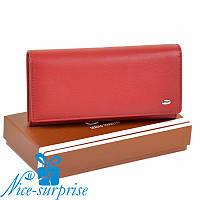 Брендовый женский кошелёк Sergio Torretti W46 red, фото 1