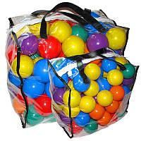 Шарики 60мм-мягкие 100шт в сумке
