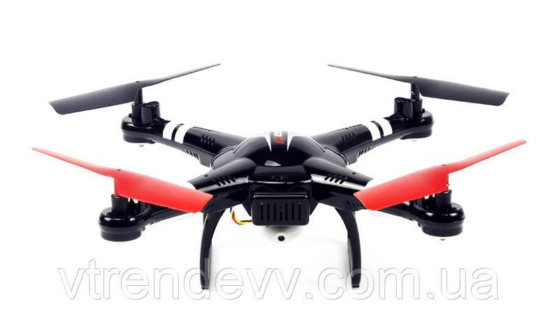 Квадрокоптер р/у WL Toys Q222K Spaceship с барометром и камерой Wi-Fi (черный)