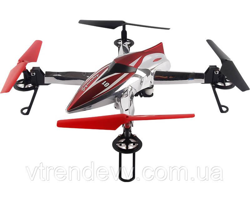 Квадрокоптер большой р/у 2.4ГГц WL Toys Q212G FPV Spaceship с барометром и FPV системой