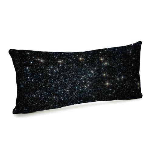 Подушка для дивана бархатная Звездное небо 50x24 (52BP_UNI001)