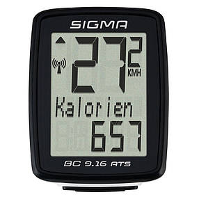 Велокомпьютер Sigma Sport BC 9.16 ATS, фото 2