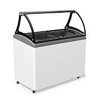 Морозильная витрина для продажи весового мороженого JUKA M400SL