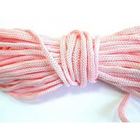 Канат 5 мм №1545 - бледно-розовый