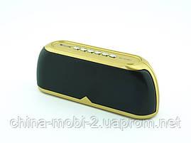 Блютуз колонка, Golon RX-1818bt 6W, золота, фото 2