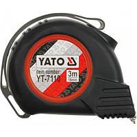 Рулетка стальная с магнитным наконечником 3мх16мм/5мх25мм/8мх25мм YATO